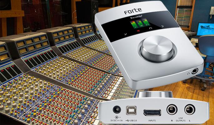 S.O.S על Focusrite Forte